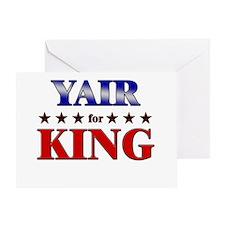 YAIR for king Greeting Card