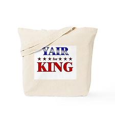 YAIR for king Tote Bag