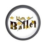 I Love Ballet Wall Clock
