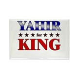 YAHIR for king Rectangle Magnet
