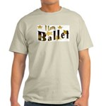 I Love Ballet Ash Grey T-Shirt