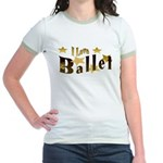 I Love Ballet Jr. Ringer T-Shirt