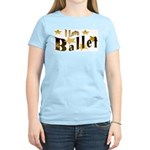I Love Ballet Women's Pink T-Shirt