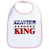 XZAVIER for king Bib