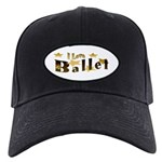 I Love Ballet Black Cap