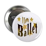 I Love Ballet Button