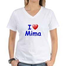 I Love Mima (Blue) Shirt