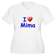 I Love Mima (Blue) T-Shirt