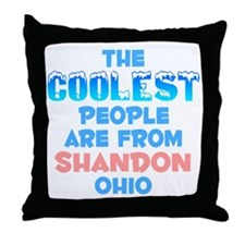 Coolest: Shandon, OH Throw Pillow