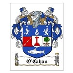 O'Cahan Family Crest Small Poster