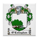O'Callaghan Family Crest Tile Coaster