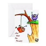 Cliff Golf Greeting Cards (Pk of 10)