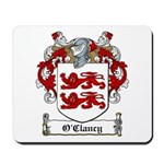 O'Clancy Family Crest Mousepad