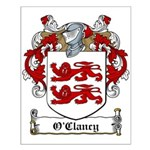 O'Clancy Family Crest Small Poster