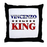 VINCENZO for king Throw Pillow
