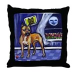 AMERICAN STAFFORDSHIRE TERRIE Throw Pillow