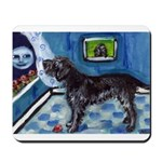 WIREHAIRED POINTING GRIFFON a Mousepad