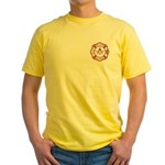 New Jersey Masons Fire Fighters Yellow T-Shirt