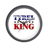 TYREL for king Wall Clock