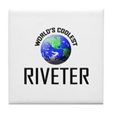 World's Coolest RIVETER Tile Coaster