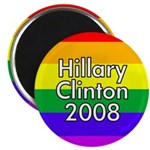 Hillary Clinton Rainbow (10 Magnets)