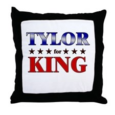 TYLOR for king Throw Pillow