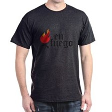 En Fuego Charcoal T-Shirt