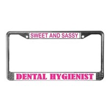 Dental Hygienist License Plate Frame