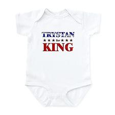 TRYSTAN for king Infant Bodysuit