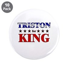 """TRISTON for king 3.5"""" Button (10 pack)"""