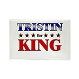 TRISTIN for king Rectangle Magnet (10 pack)
