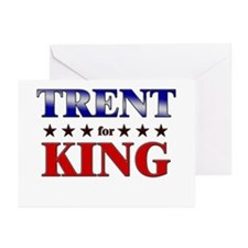 TRENT for king Greeting Cards (Pk of 10)