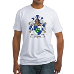Grunau Family Crest Fitted T-Shirt