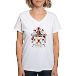 Griesinger Family Crest Women's V-Neck T-Shirt