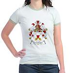 Griesinger Family Crest Jr. Ringer T-Shirt