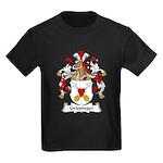 Griesinger Family Crest Kids Dark T-Shirt