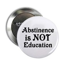 "Abstinence 2.25"" Button (10 pack)"