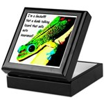 I'm A Gecko! Keepsake Box