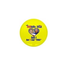 Hillbilly 2008 Deal Mini Button (10 pack)