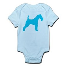 Blue Wire Fox Terrier Infant Bodysuit