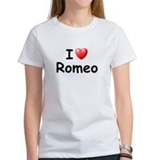 I Love Romeo (Black) Tee