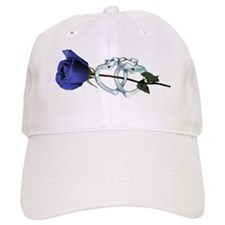 Rose/Cuffs Baseball Cap