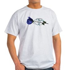 Rose/Cuffs T-Shirt