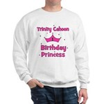 Custom - First Birthday - Tri Sweatshirt