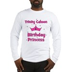 Custom - First Birthday - Tri Long Sleeve T-Shirt