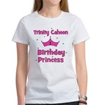 Custom - First Birthday - Tri Women's T-Shirt