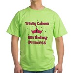 Custom - First Birthday - Tri Green T-Shirt