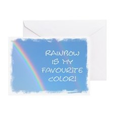 ...My Favourite Color... Note Card