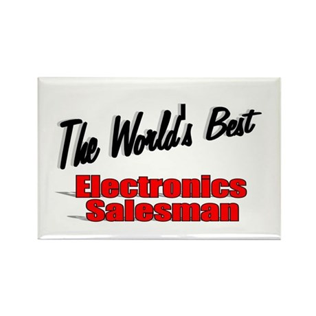 """The World's Best Electronics Salesman"" Rectangle"