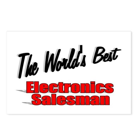 """The World's Best Electronics Salesman"" Postcards"